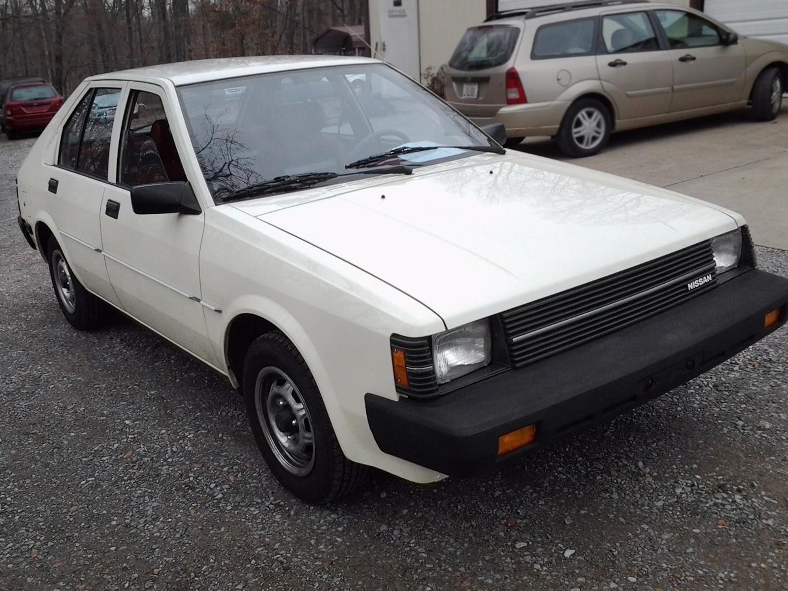 Albino Unicorn DatsunNissan Pulsar - Cool cars 1983
