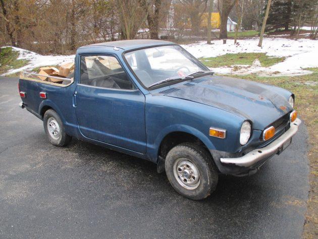 Honda's Mistake: 1972 Honda AZ600 Pickup