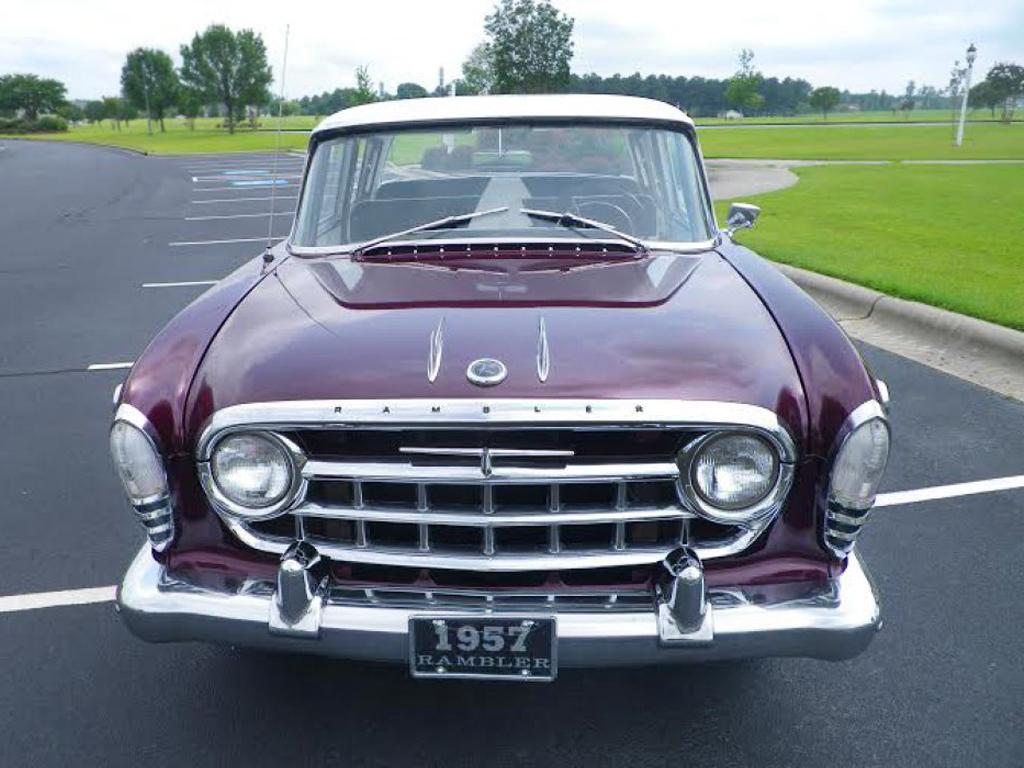 Purple Reign: 1957 Rambler Six Custom