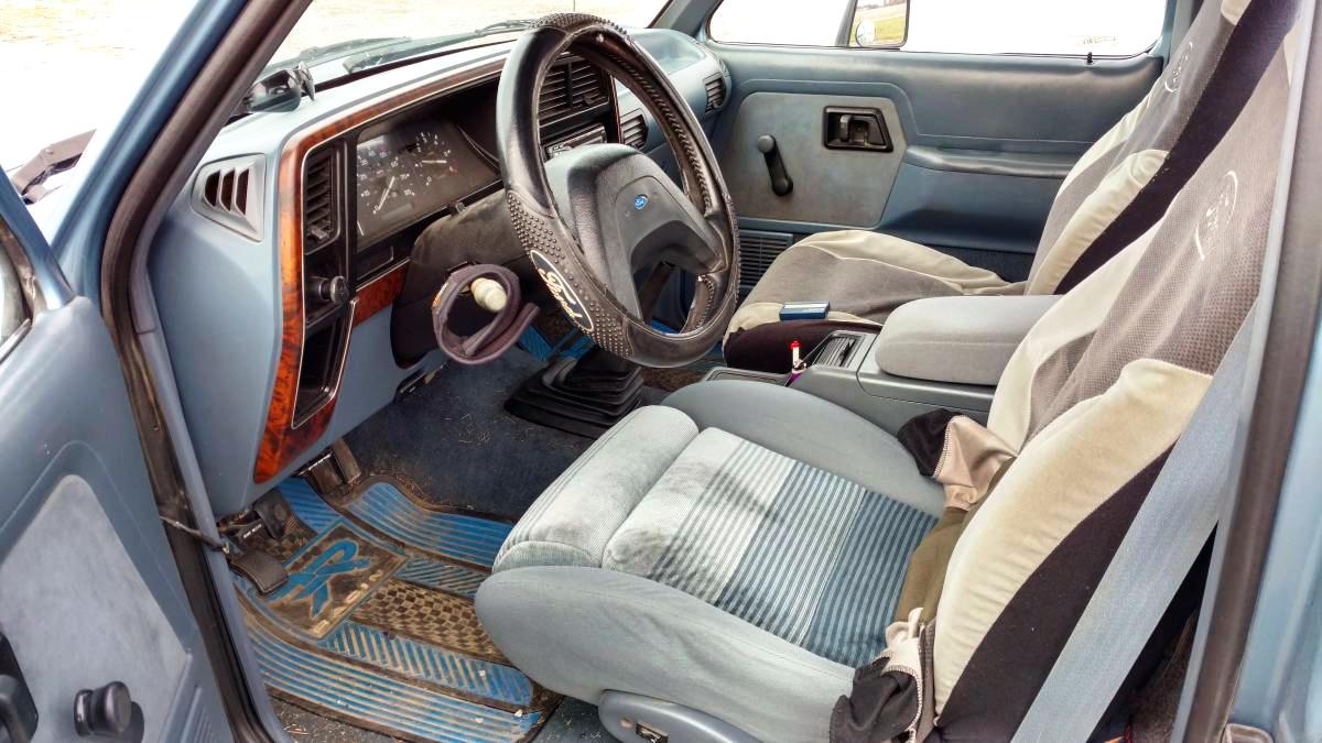 rare ranger 1989 ford ranger gt. Black Bedroom Furniture Sets. Home Design Ideas