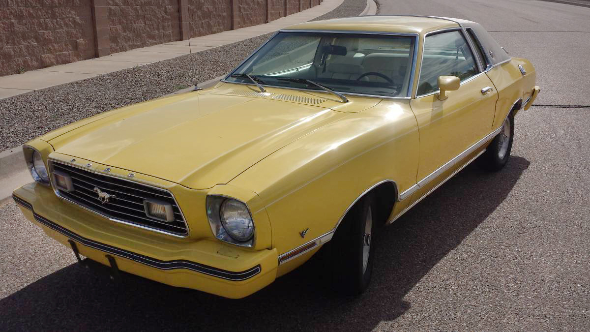 All Types mustang 2 pictures : The Leisure Suit of Cars: 1977 Ford Mustang II