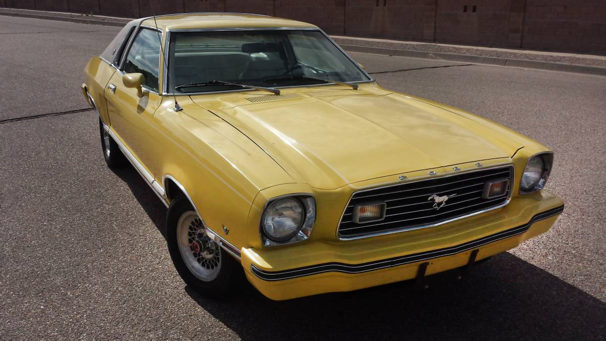 The leisure suit of cars 1977 ford mustang ii