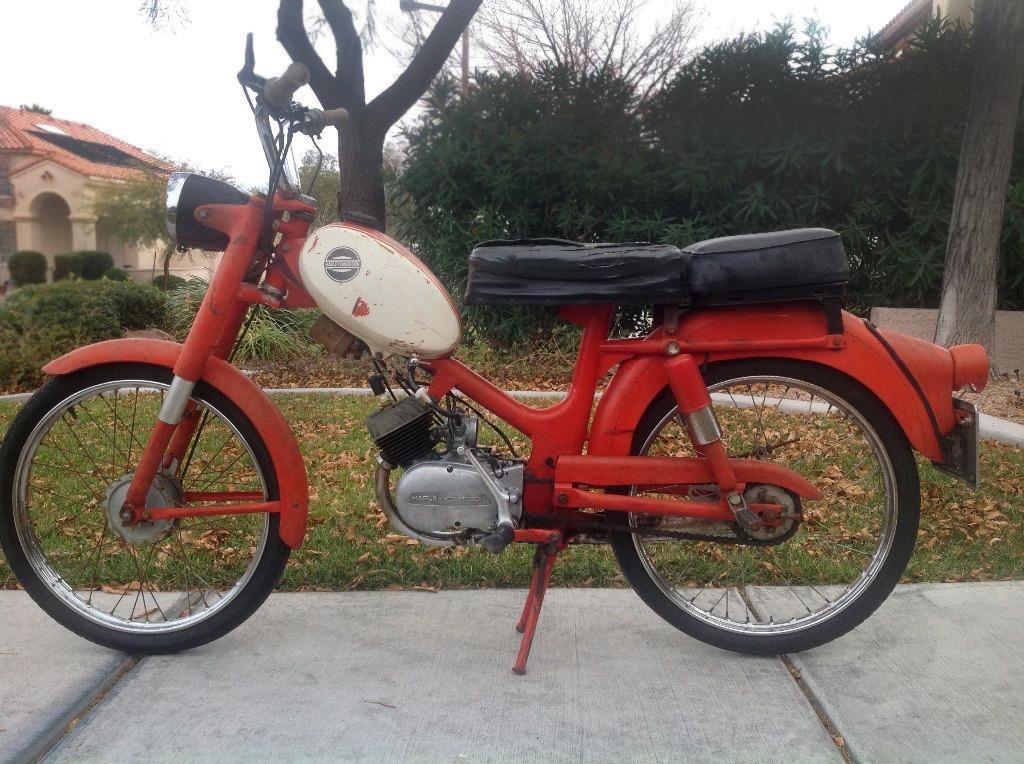 Used Motorcycles Las Vegas >> Little Big Man: 1965 Harley-Davidson M-50