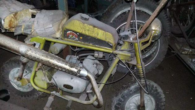 Maxi Project Mini Bike: 1969 Broncco TX-6L