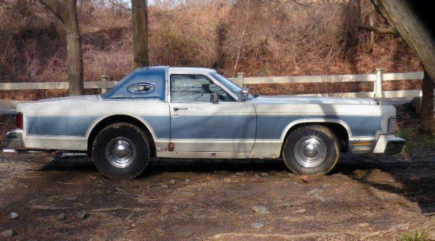 Custom Cut: 1978 Lincoln Continental Shorty