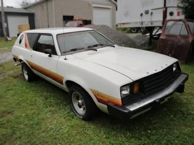 Porthole Pony 1979 Ford Pinto Cruising Wagon