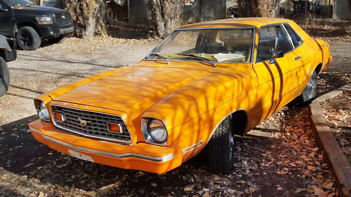 Mileage master 1976 ford mustang ii mpg