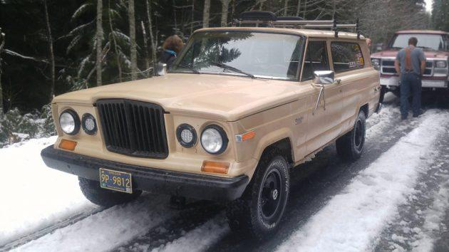 Ye Olde Grille: 1981 Jeep Cherokee
