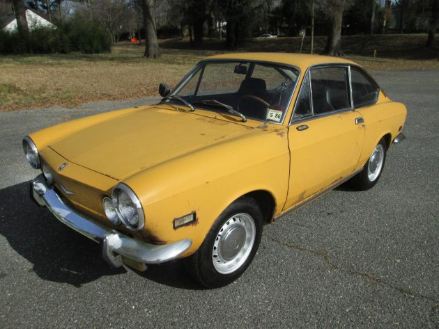 On the Verge: 1971 Fiat 850 Coupe