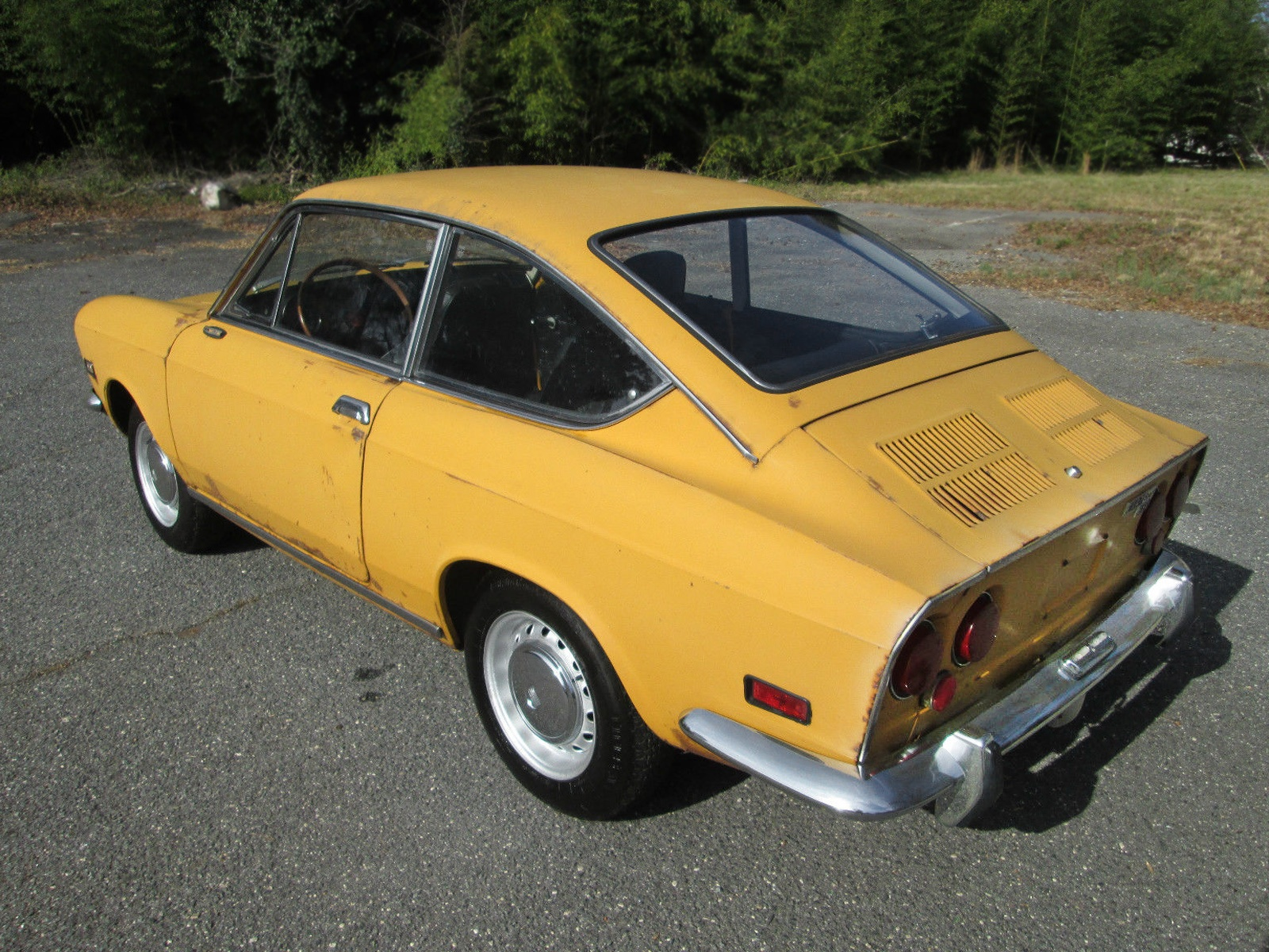 On The Verge 1971 Fiat 850 Coupe