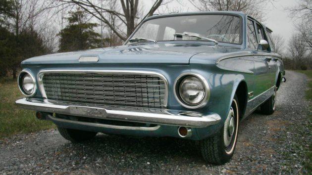 Mid-Level: 1963 Plymouth Valiant V200 Wagon
