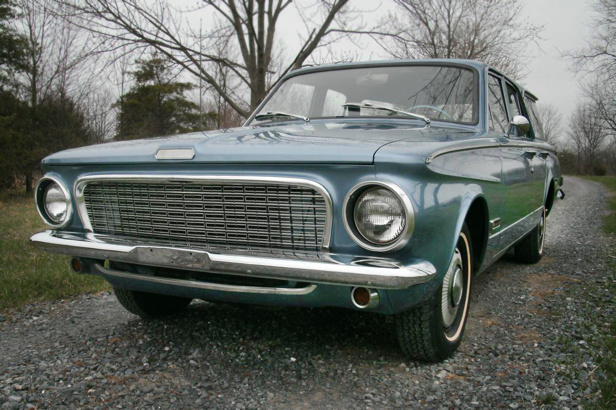 Mid Level 1963 Plymouth Valiant V200 Wagon