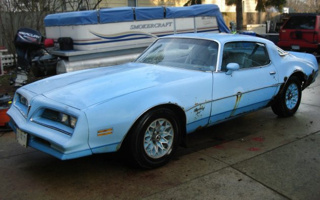Sky Bird! 1978 Pontiac Firebird Sky Bird