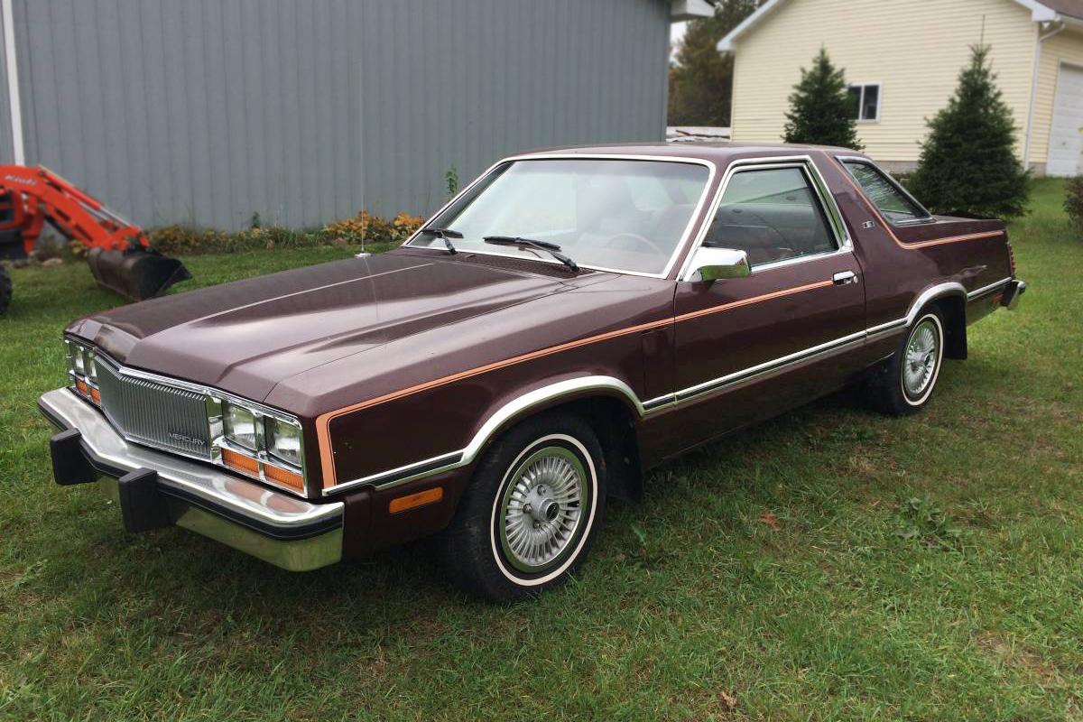 2017 Ford Bronco >> 34,000 Miles: 1982 Mercury Zephyr Z-7