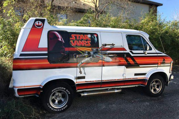 Nerd Alert! 1979 Dodge B200 Star Wars Van