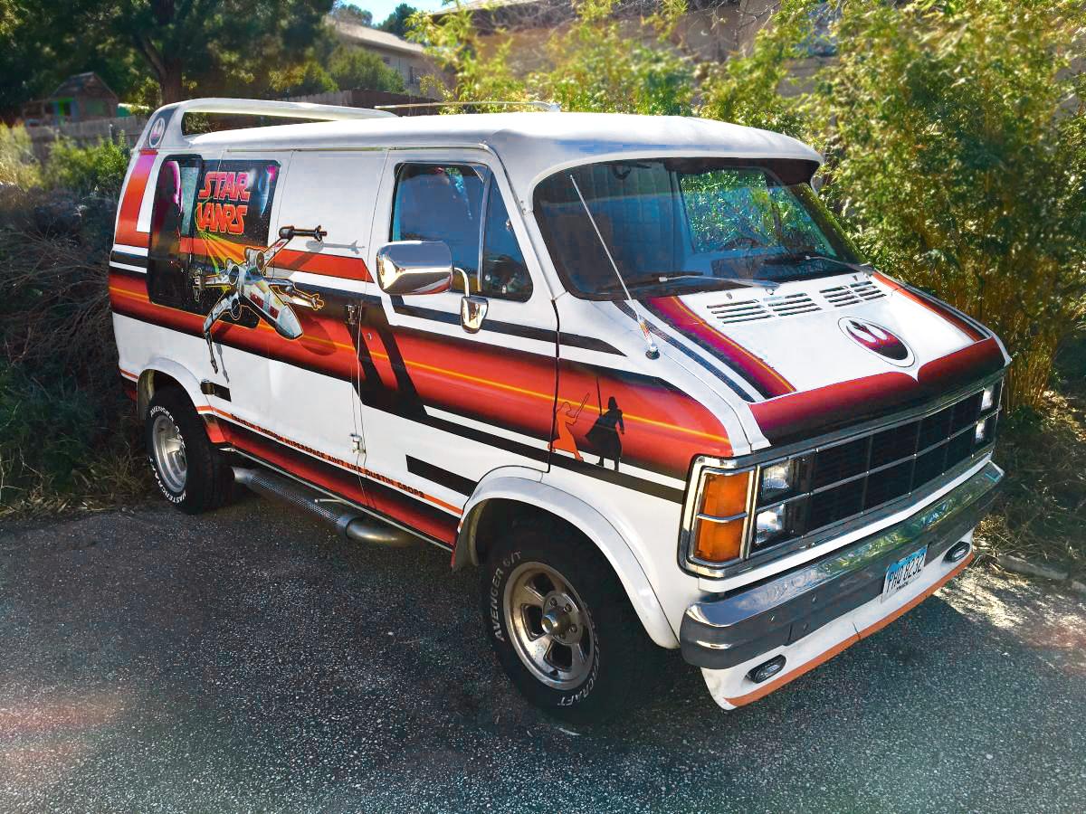 Nerd Alert 1979 Dodge B200 Star Wars Van