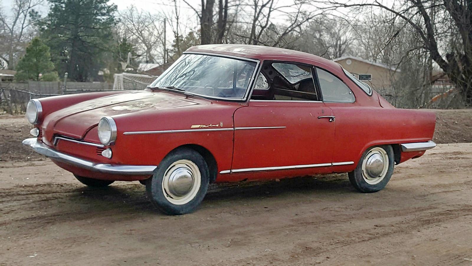 My Car Store >> Bertone Beauty: 1960 NSU Sport Prinz