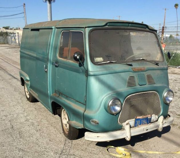 Le Van: 1960 Renault Petite-Panel Van
