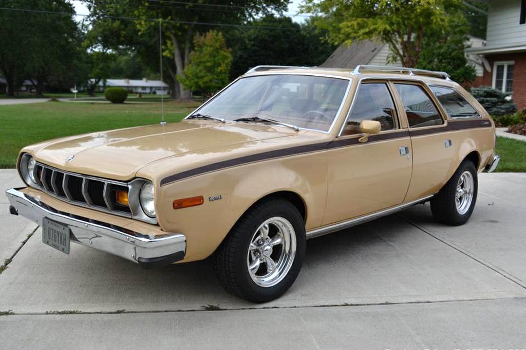 6   2   V8  1976 Amc Hornet X Sportabout