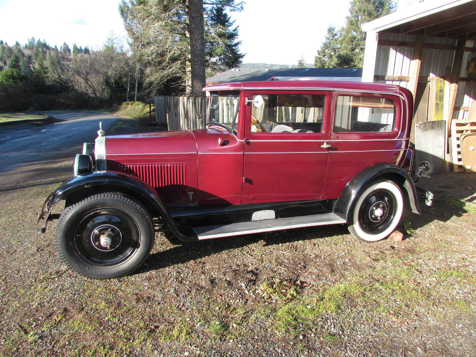 Dusty Find 1928 Nash Special Six