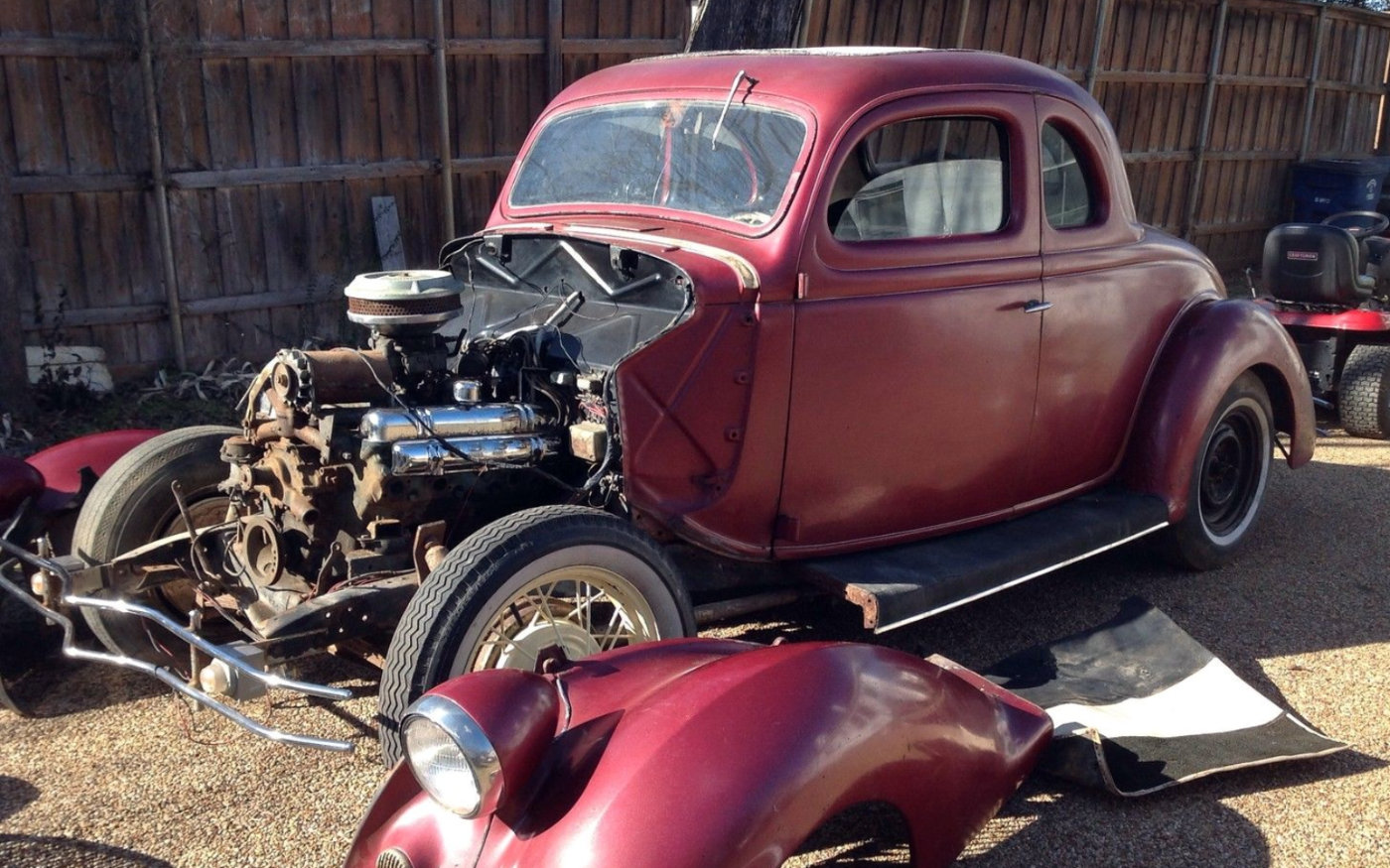 Vintage Rod Finds 1932 Amp 1936 Ford Coupes