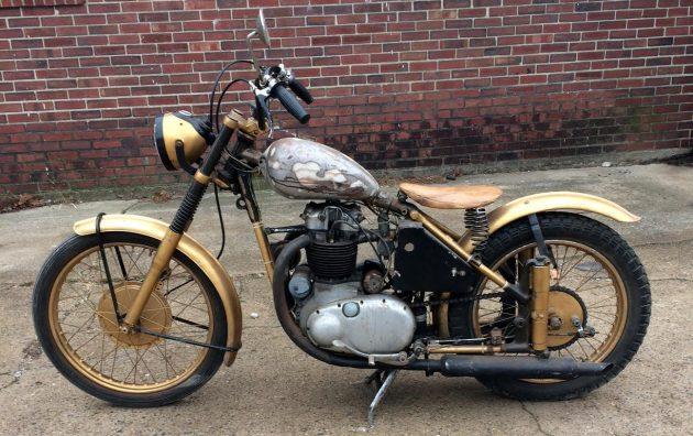 BF Exclusive: 1950 BSA Golden Flash