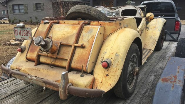Judson Power: 1953 MG TD