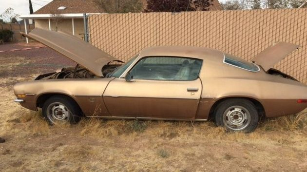 Golden Pony: 1973 Camaro