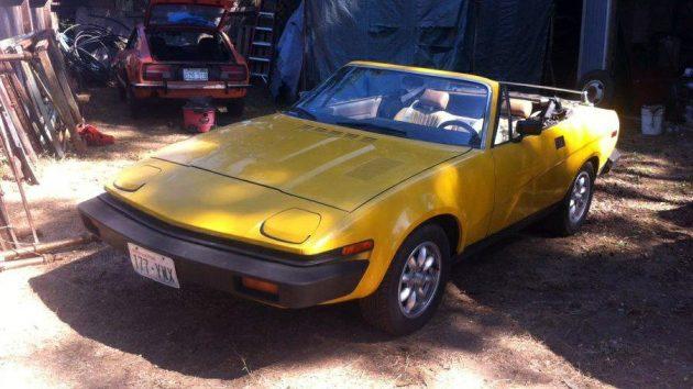 V6 Upgrade: 1980 TR7 Convertible