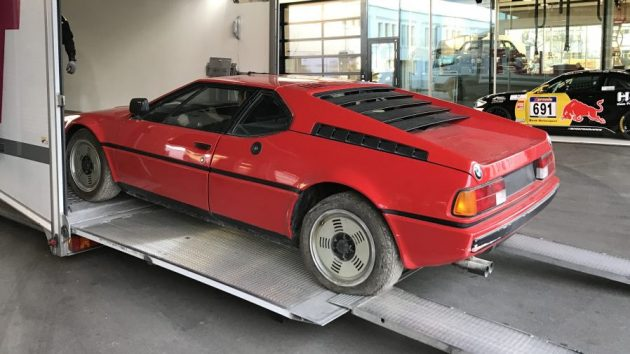 Rare Supercar Uncovered BMW M - 1981 bmw m1 for sale