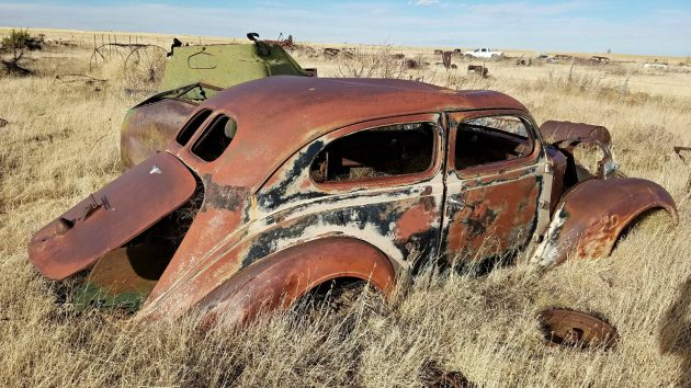 Field Of Dreams: 1937 Plymouth Deluxe