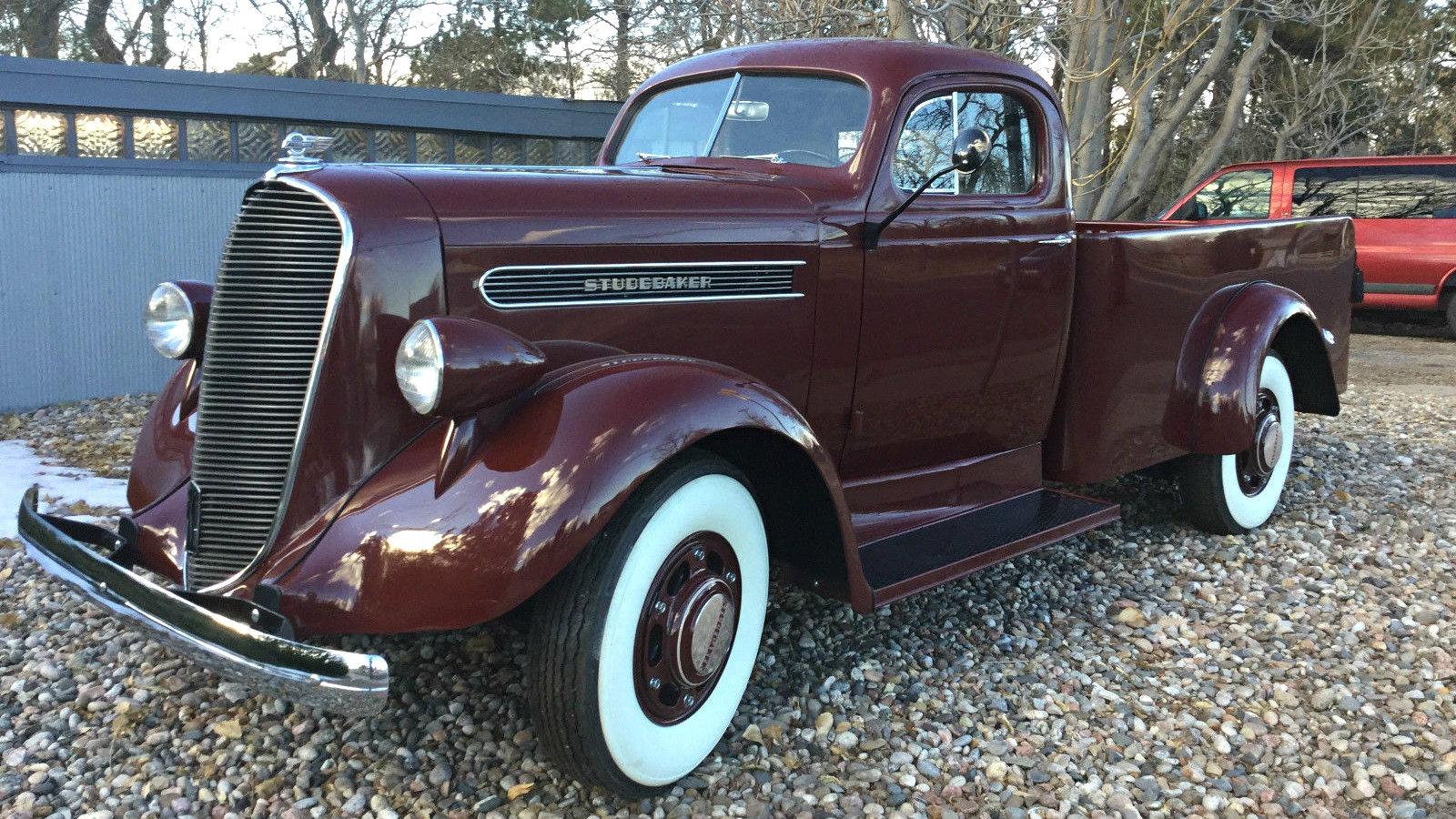 Trucks For Sale In Mn >> Utilitarian Beauty: 1938 Studebaker K10 Fast Express
