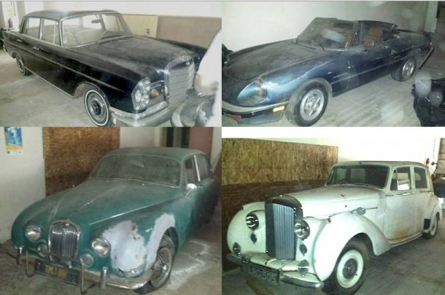 Alfas, Jags and Mercedes Oh My: Basement Collection