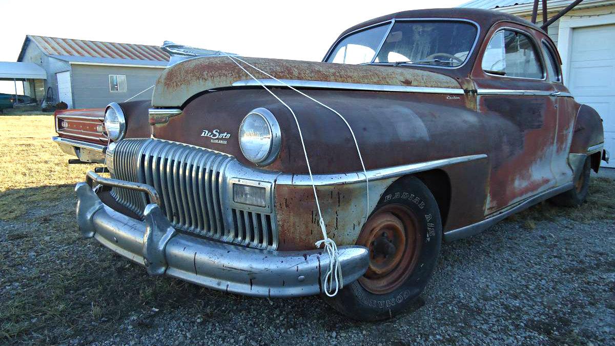 Rust Free 1947 Desoto Deluxe