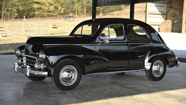 French Survivor: 1954 Peugeot 203
