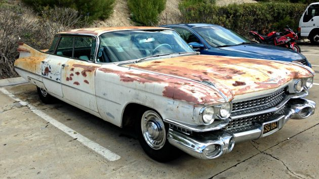 Sanded For No Reason: 1959 Cadillac Sedan Deville