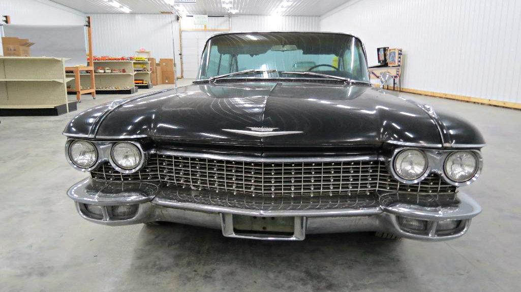 Finned Survivor 1960 Cadillac Fleetwood Series 75 Sedan