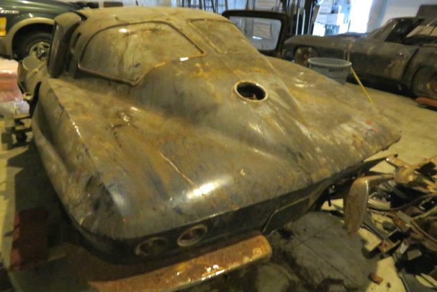 Split Window Travesty: 1963 Chevrolet Corvette