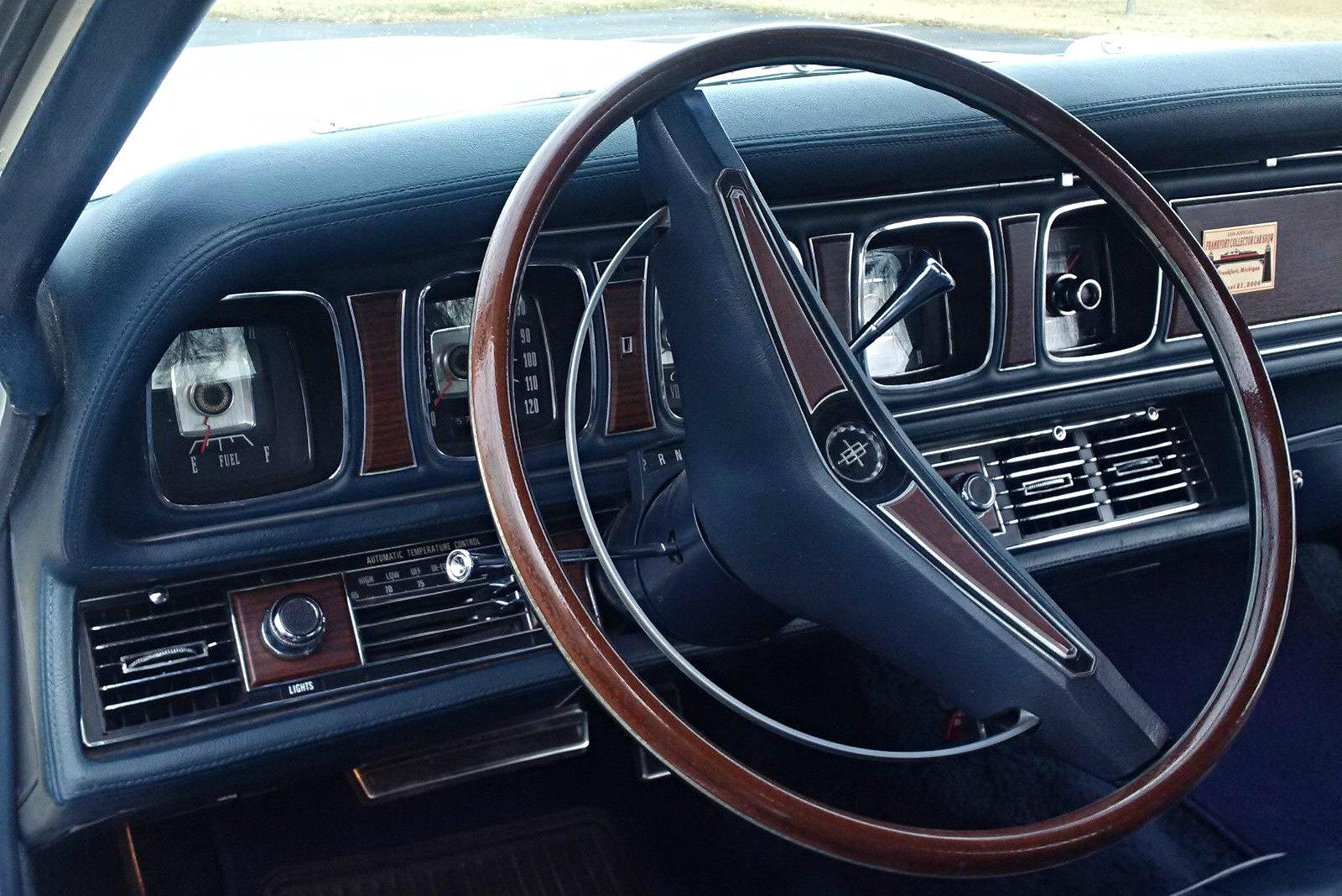 Luxurious Survivor 1969 Lincoln Mk Iii