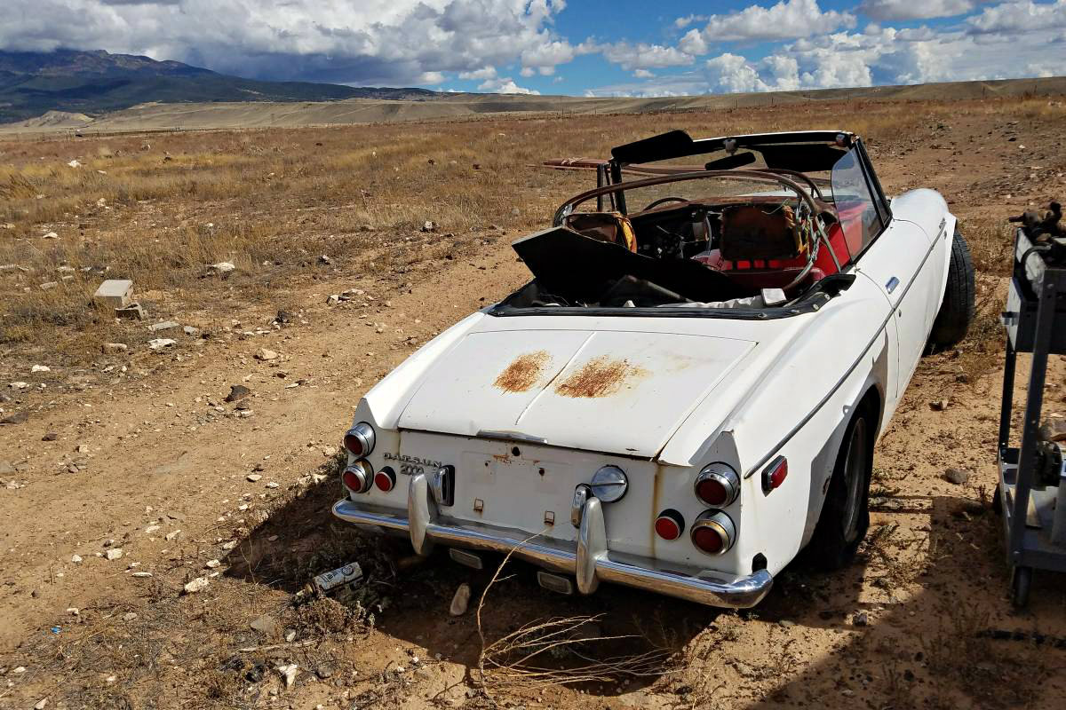 Deserted Datsun: 1969 Datsun 2000