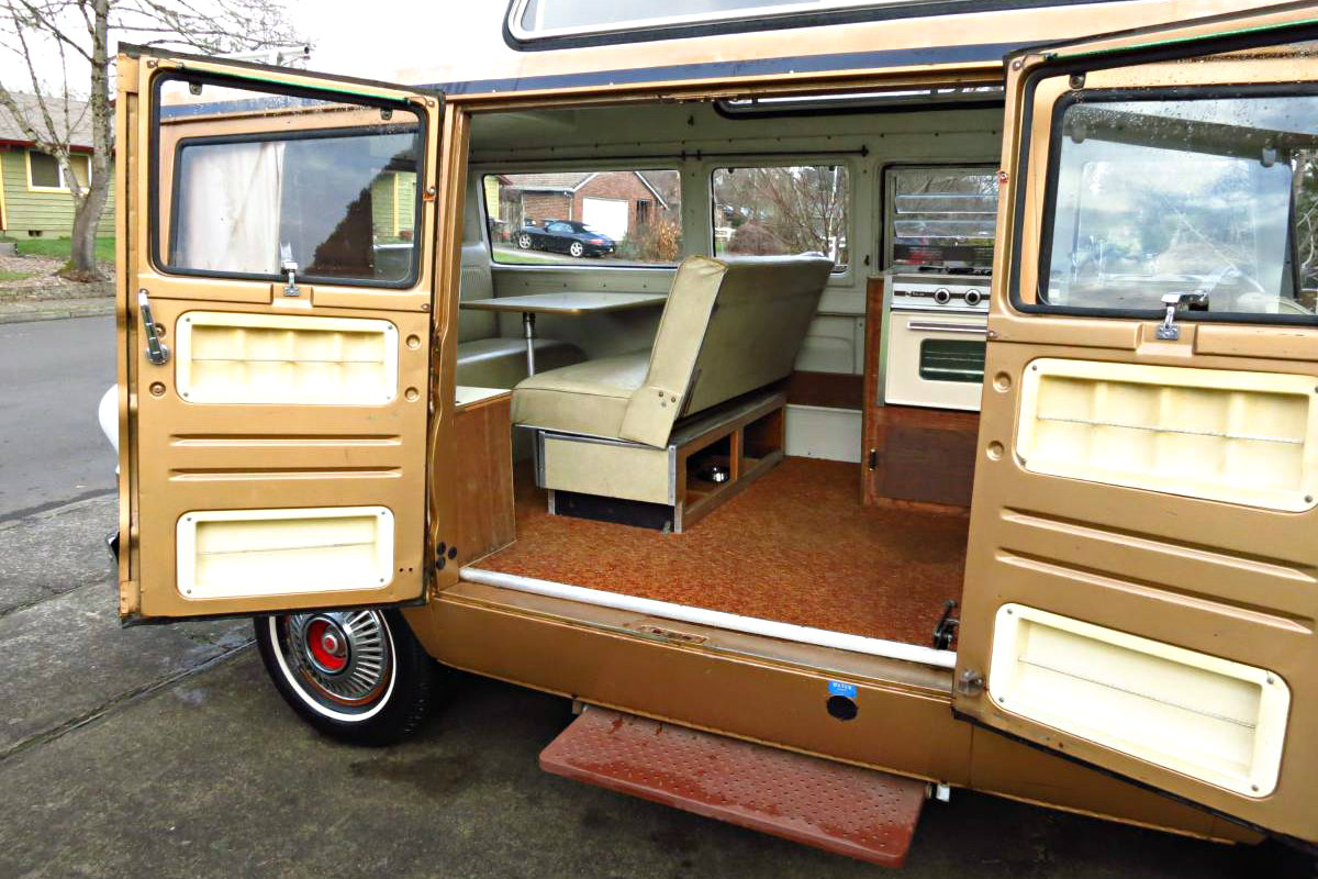 Ready to camp 1969 dodge a100 sportsman camper for A 100 paint