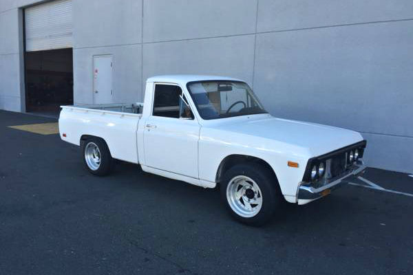 Mazda B on 1972 ford pickup truck
