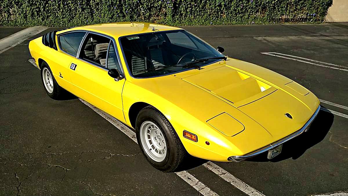 Lamborghinis For Sale >> Bull's-Eye: 1975 Lamborghini Urraco