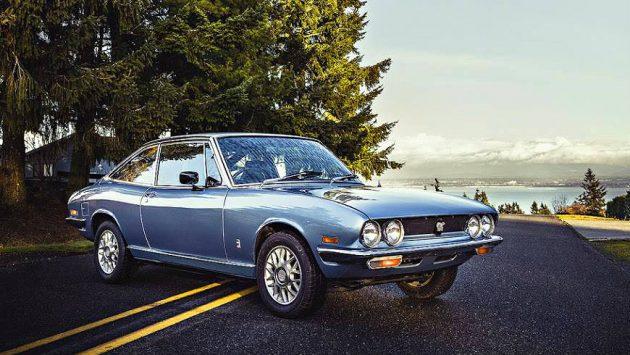 Italian Design: 1977 Isuzu 117 GT