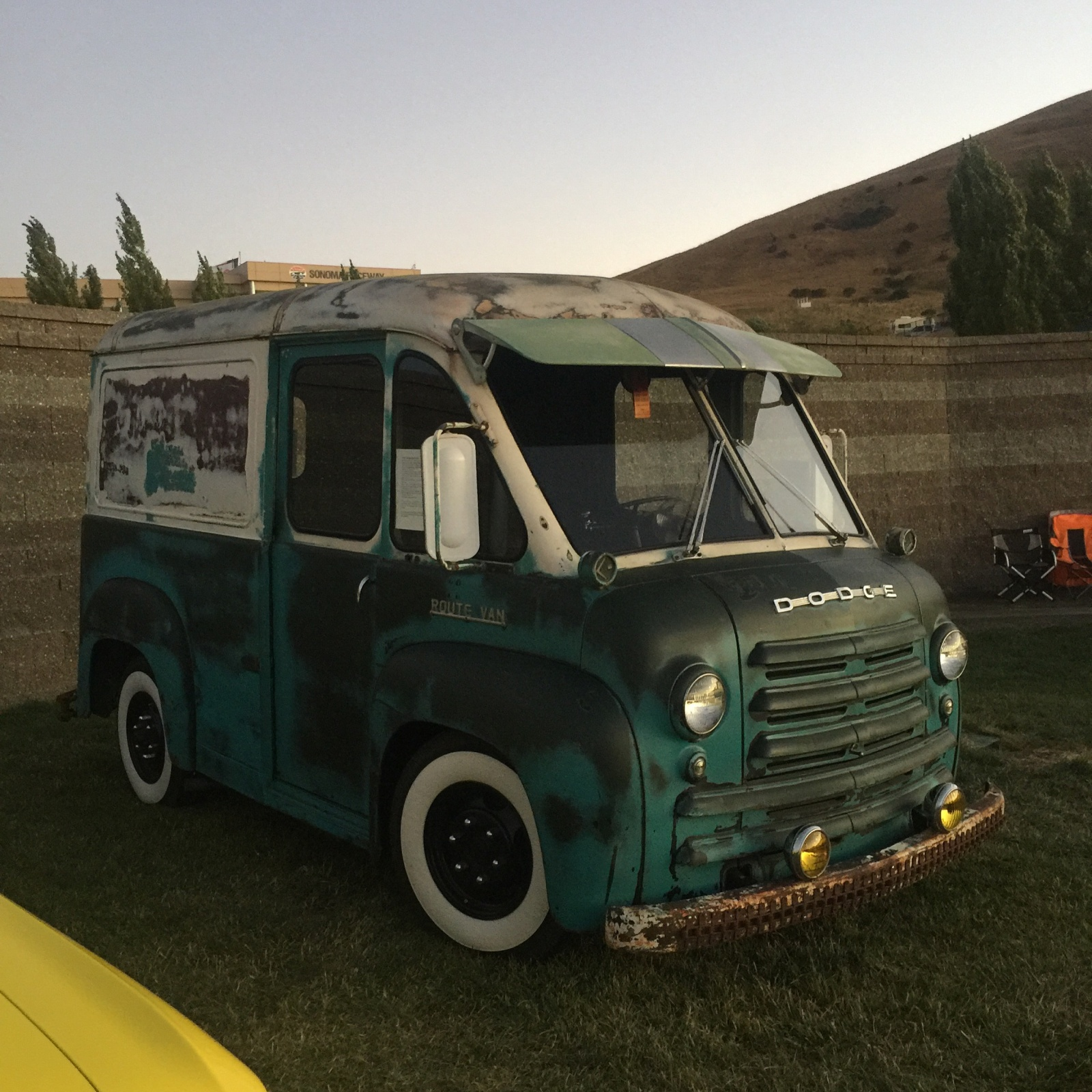 The Ratty Milk Van: 1951 Dodge Delivery