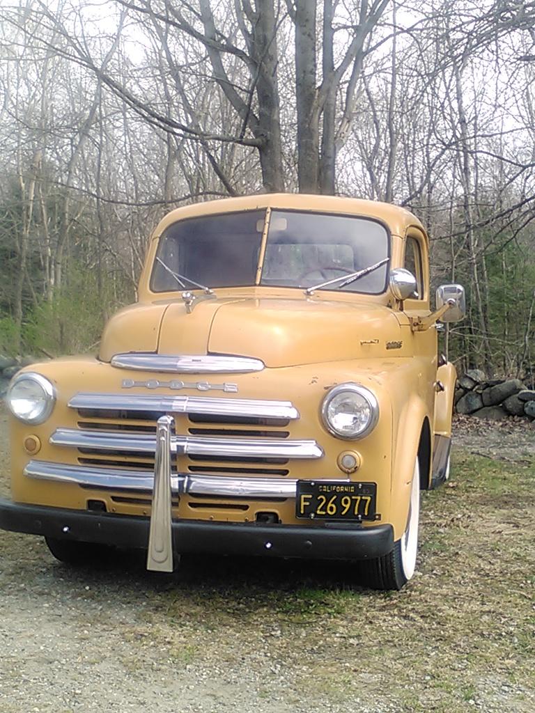 Dodge San Diego >> Restored Gem: 1955 Dodge C3-B6 Pickup