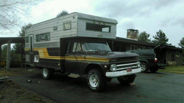 Beach Rig: 1965 Chevy 2500 Camper