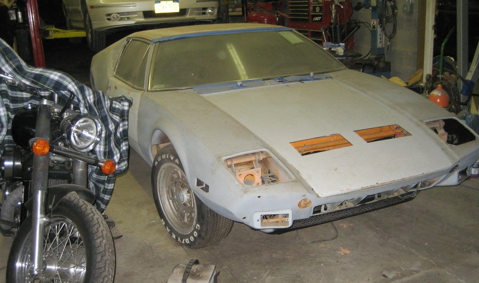 Moving To Florida 74 Detomaso Pantera Project