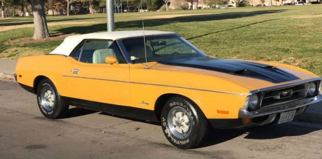 88,000 Mile Carport Find: 1971 Mustang Convertible