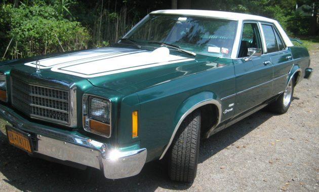 Ziebart'd from New: 1978 Ford Granada ESS